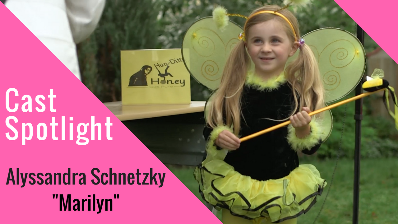 Spotlight interview with Aly Schnetzky who played Marilyn