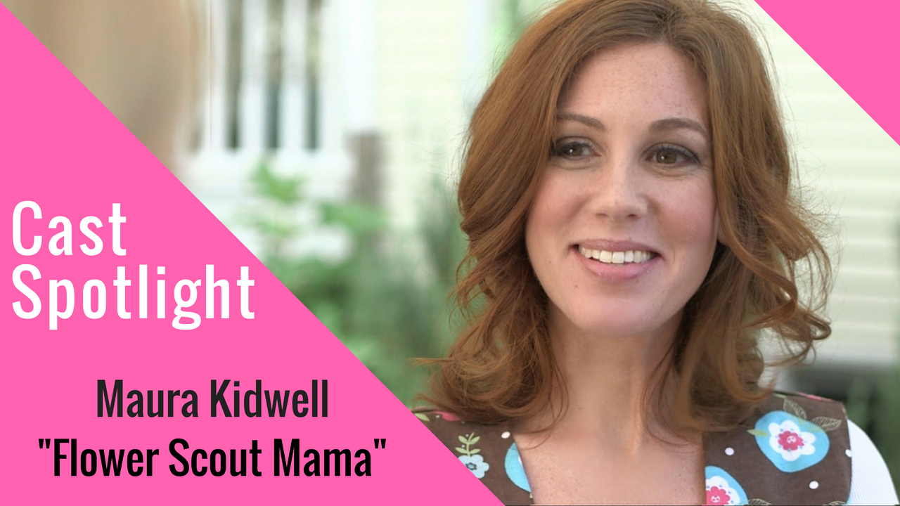cast spotlight photo of Maura Kidwell